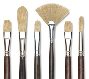 Blick Studio Bristle Brushes
