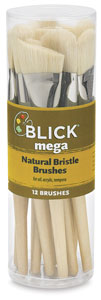 Blick Mega Natural Bristle Brushes Image 1407