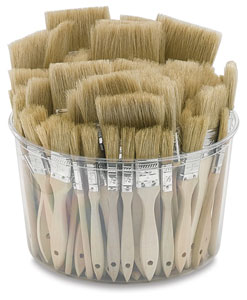 White Bristle Gesso Brush Assortment Picture 1006