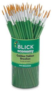 Blick Economy Golden Taklon Canisters Image 540