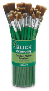 Blick Economy Golden Nylon Canisters Picture 1733