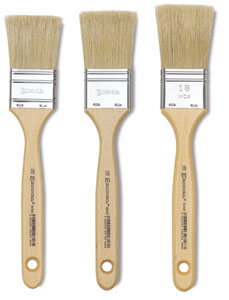 Escoda Natural Chungking Bristle Decorating Brushes Image 1896