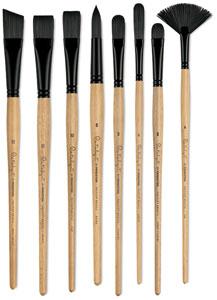 Princeton Catalyst Polytip Bristle Brushes