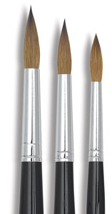 Da Vinci Russian Sable Round Brush Sets Image 1040