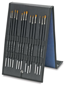Old Holland Kolinsky Sable Brush Easel Gift Set Picture 4180