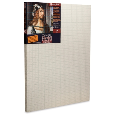 The Artist Grid Cotton Canvas Photo