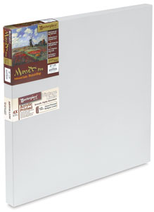 Canvas Art Supplies for Acrylics :: Learn How to Paint on