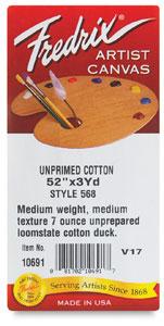 Fredri Style Medium Weight Cotton Canvas Rolls