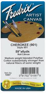 Fredri Style Polyfla Cherokee Portrait Canvas Rolls Image 1156