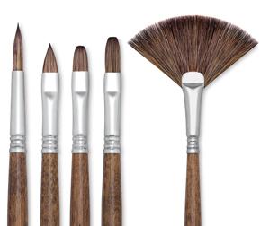 Escoda Versatil Brushes Photo