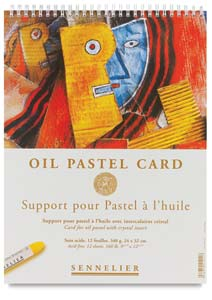 Sennelier Oil Card Pads Image 1568