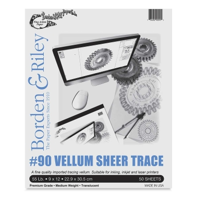 Borden Riley Vellum Sheer Trace Image 1502