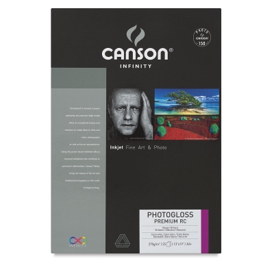 Canson Infinity Photogloss Premium Resin Coated Art Paper Image 2380