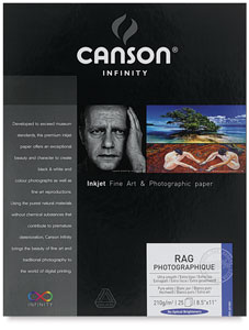 Canson Infinity Rag Photographique Photo