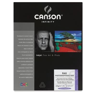 Canson Infinity Rag Photographique Duo Photo