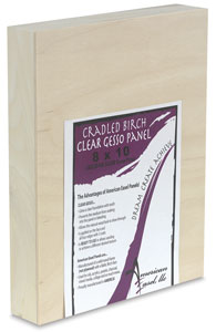 American Easel Clear Gessoed Wood Panels