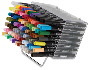 Zig Art Graphic Twin Marker Sets Photo
