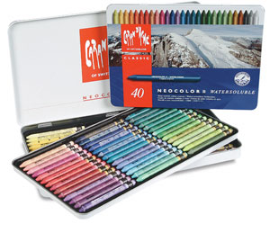 Caran Dache Neocolor Artists Crayons Photo