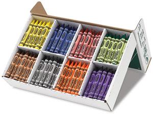 Crayola Jumbo Crayons Classpack Image 1714