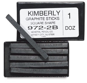 General's Kimberly Graphite Sticks