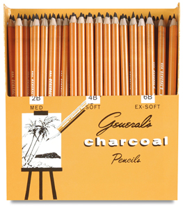 Generals Charcoal Pencils Sets Image 1330
