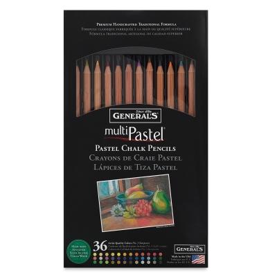 Generals Multipastel Chalk Pencils Image 1878