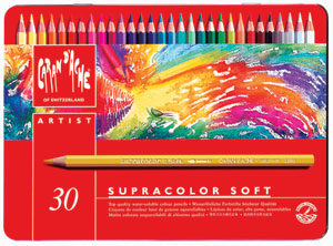Caran Dache Supracolor Soft Aquarelle Pencil Sets Image 1433