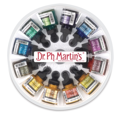 Dr Ph Martins Iridescent Calligraphy Ink Sets Image 1916