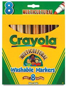 Multicultural 8-Color Set
