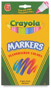 Fluorescent 6-Color Set