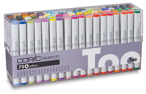 Copic Sketch Markers Photo