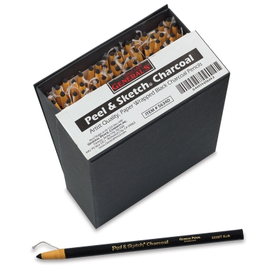 Generals Peel Sketch Charcoal Pencils Sets Image 1105