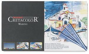 Cretacolor Marino Watercolor Pencil Sets Image 2343