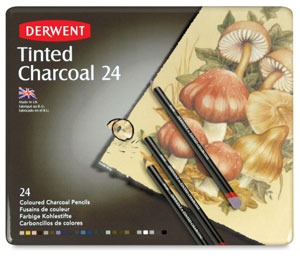 Derwent Tinted Charcoal Pencils Picture 1371
