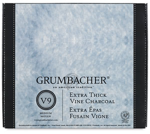 Grumbacher Vine Charcoal Jumbo Sticks Image 1407