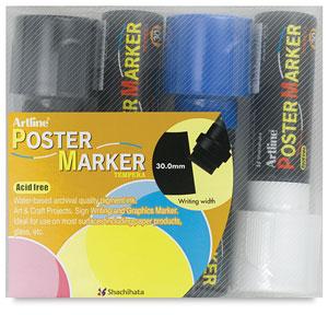 Artline Poster Markers Image 2349