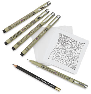 Sakura Pigma Micron Zentangle Sets