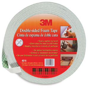 Scotch Double Coated Foam Tape Image 2443