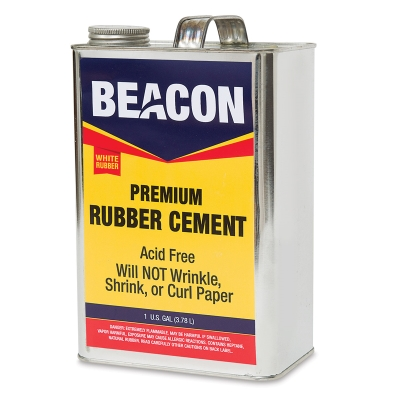 Beacon Artist Quality Rubber Cement Image 1696