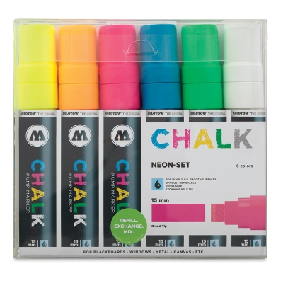 Molotow Chalk Markers Image 1500