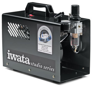 Iwata Smart Jet Pro Studio Compressor Picture 360