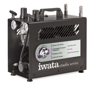 Iwata Power Jet Pro Studio Compressor Picture 1897