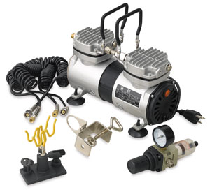 Silentaire Scorpion Heavy Duty Airbrush Compressor Photo