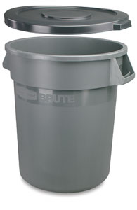 Rubbermaid Brute Clay Container Image 256