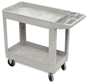 Rubbermaid Service Cart Photo