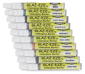 Glaz Eze Underglaze Markers Photo