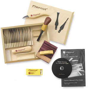 Flexcut Deluxe Starter Carving Set Image 506