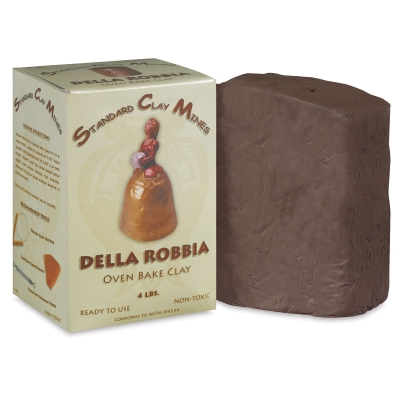 Della Robbia Oven Bake Clay Picture 28