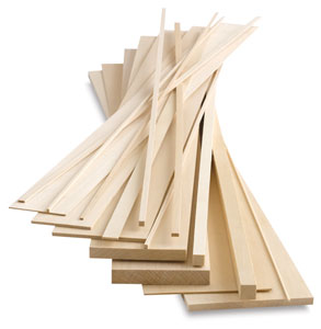 Midwest Products Genuine Basswood Sheets Image 2071