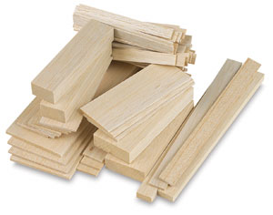 Midwest Products Genuine Balsa Wood Photo